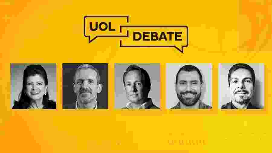 Luiza Helena Trajano, Marcelo Melchior, Andries Oudshoorn, Diego Barreto e João José Oliveira (da esq. para a dir.) - Arte/UOL