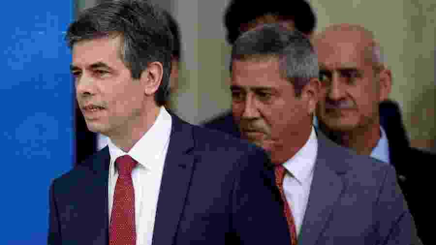 Coletiva em Brasília não teve representantes do Ministério da Economia - UESLEI MARCELINO