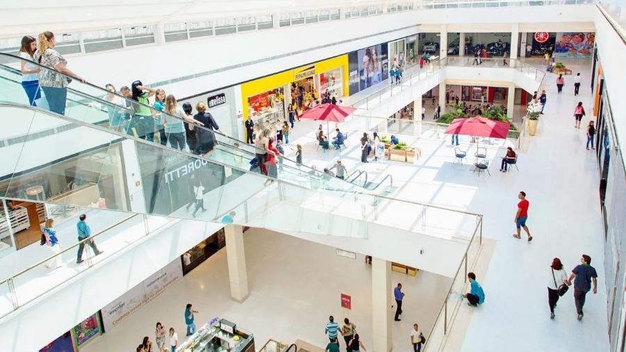 Foto mostra área interna do shopping Iguatemi Esplanada - Reprodução - Arquivo/Iguatemi Esplanada
