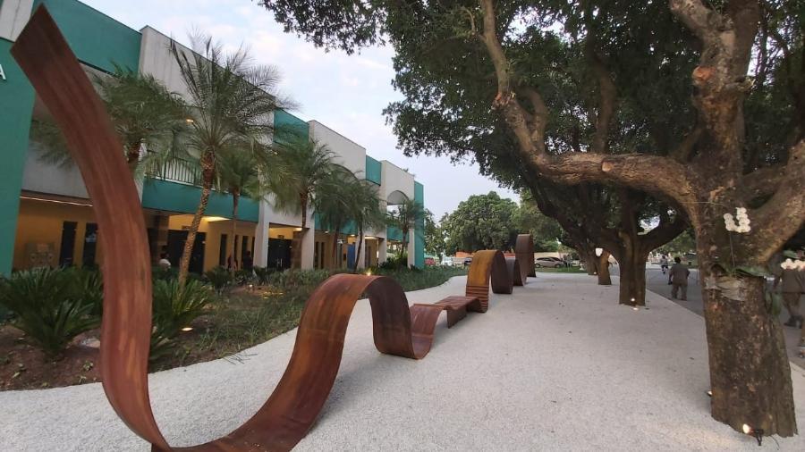 Memorial em homenagem às vítimas da covid-19 foi inaugurado no Rio - Divulgação