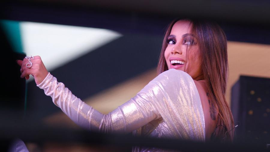 Anitta foi uma das atrações da festa de Réveillon em Nova York - Gary Hershorn / AFP