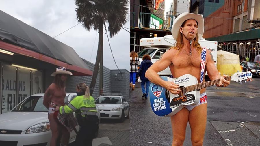Caubói pelado é preso na Flórida, durante o evento Bike Week, nos Estados Unidos  - Reprodução/Youtube/Wikimedia Commons