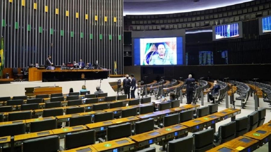 Sessão do Plenário da Câmara dos Deputados; Lei Aldir Blanc tem seus efeitos prorrogados  - Pablo Valadares/Câmara dos Deputados