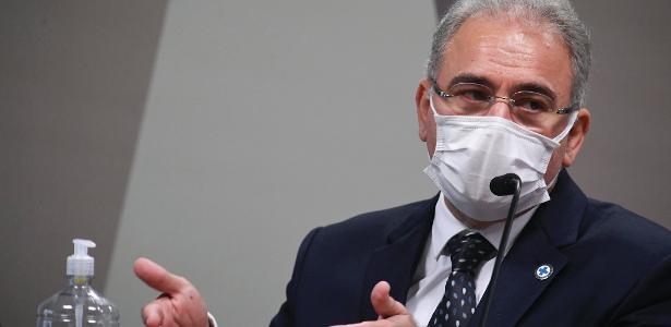 Queiroga anuncia chegada de 1,5 mi de doses de vacina da Janssen amanhã