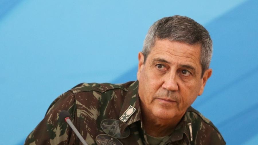 O general Braga Netto é ministro da Defesa e aliado do presidente Jair Bolsonaro (sem partido) - Marcelo Camargo/Agência Brasil