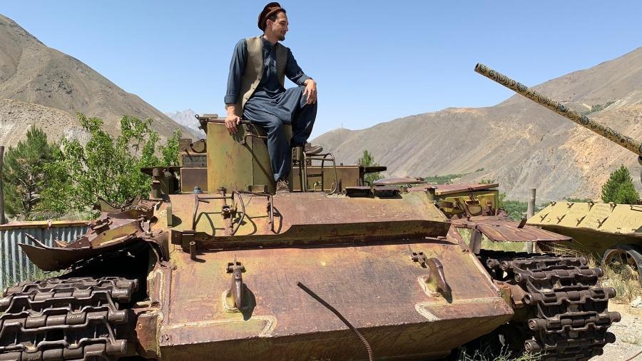 Fotógrafo brasileiro Luca Bassani Coser viajou pelo Afeganistão pouco mais de um mês antes da ocupação do Taleban - Arquivo pessoal