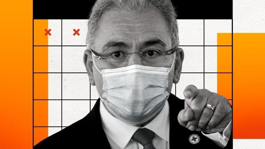 Marcelo Queiroga Personagem da Semana - Adriano Machado/Reuters/Arte UOL