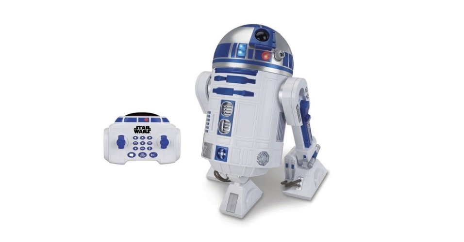 Robô com controle remoto Star Wars R2D2, Toyng. Vendido por R$ 1.799,99 no site da Ri Happy