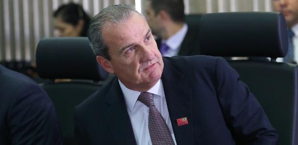 O secretário de Segurança Pública de São Paulo, Mágino Alves Barbosa Filho