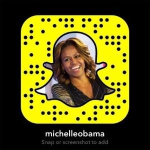 Michelle Obama_Snapchat