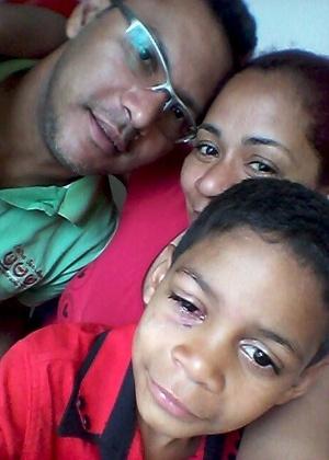 Francisco da Costa levou Ulisses imediatamente ao Hospital Regional de Taguatinga após o olho ser atingido