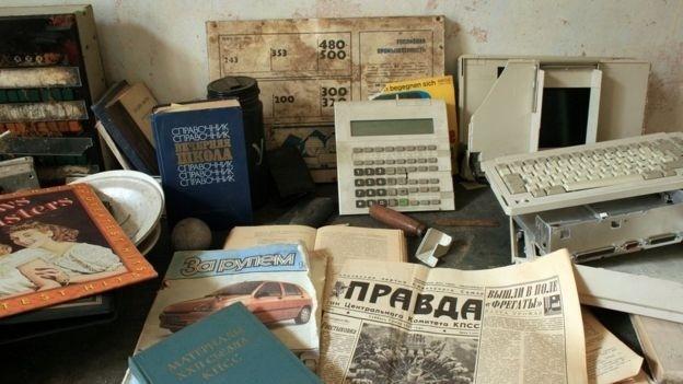 """5.mar.2017 - Antes de ganhar esse apelido, durante quatro décadas Wünsdorf foi conhecida como a """"Pequena Moscou"""", onde militares soviéticos e seus familiares viviam isolados do resto da Alemanha"""