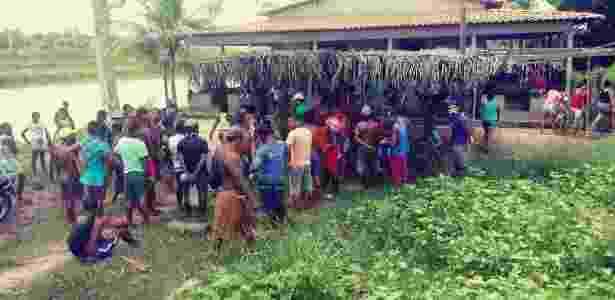 Índios gamela reunidos em Viana (MA) - Cimi (Conselho Indigenista Missionário)