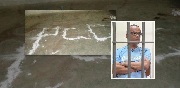 Membros do PCC e Beira-Mar (no destaque) utilizavam visitas íntimas para passar ordens - Arte/UOL