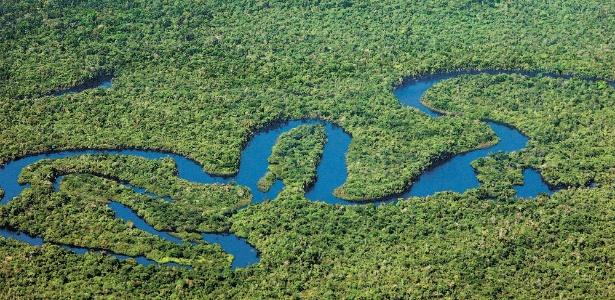 Amazônia legal se estende por nove Estados brasileiros e ocupa 60% do nosso território