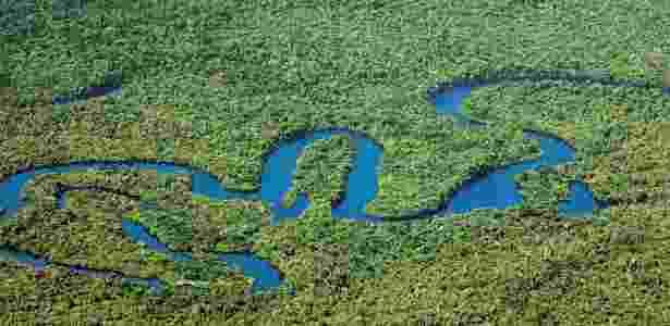 Amazônia legal se estende por nove Estados brasileiros e ocupa 60% do nosso território - Dida Sampaio/Estadão Conteúdo