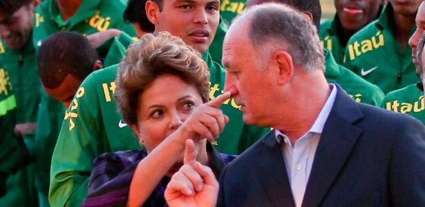 Na campanha do governo, Dilma será comparada a Felipão