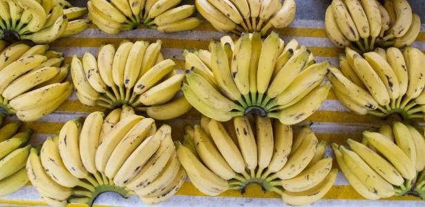 Bananas à venda na feira da Ceagesp, em São Paulo