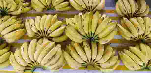 Bananas à venda na feira da Ceagesp, em São Paulo - Diego Padgurschi /Folhapress - 30.set.2015