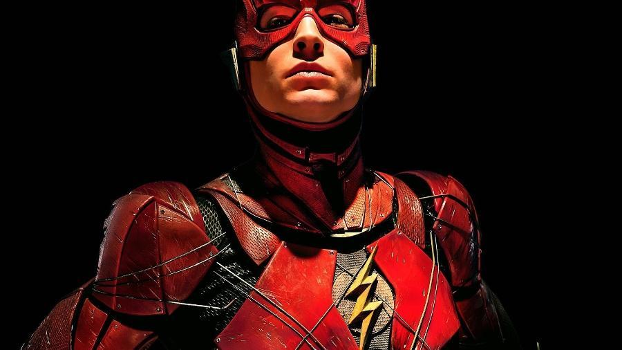 """Ezra Miller como Flash em """"Liga da Justiça""""  - Divulgação"""