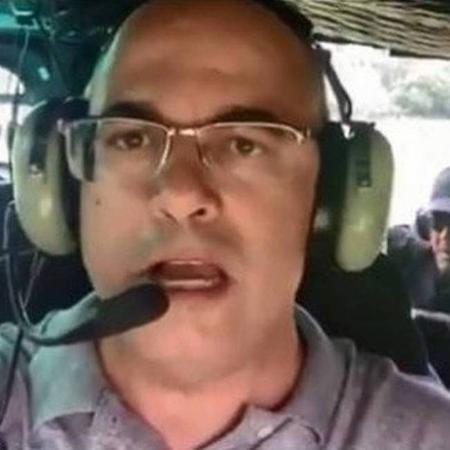 Wilson Witzel, governador do Rio, participa de operação policial em Angra dos Reis (RJ) - Reprodução