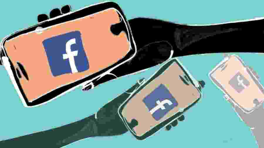 Facebook  - KATIE HORWICH/BBC