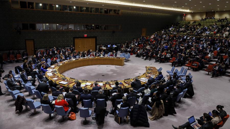 09.jan.2020 - Debate no Conselho de Segurança da ONU - Xinhua/Li Muzi