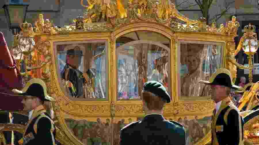 """O rei holandês Willem-Alexander pode parar de usar sua """"carruagem de ouro"""" - Reprodução/Flickr"""
