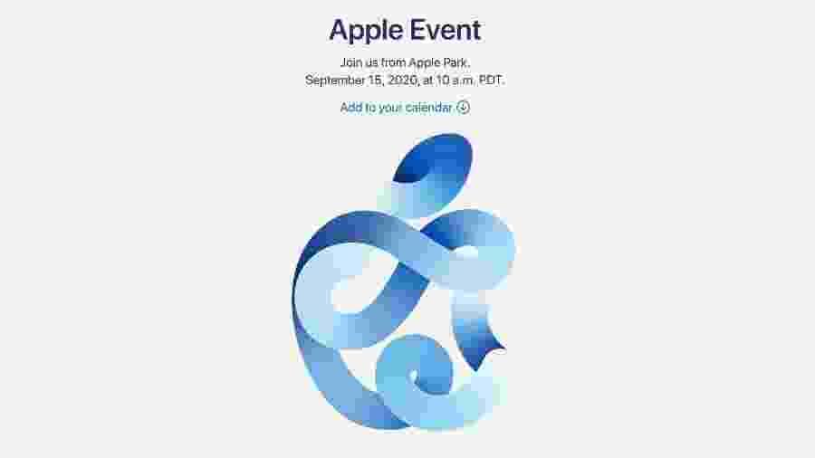 Apple marcou evento para o dia 15 de setembro - Reprodução