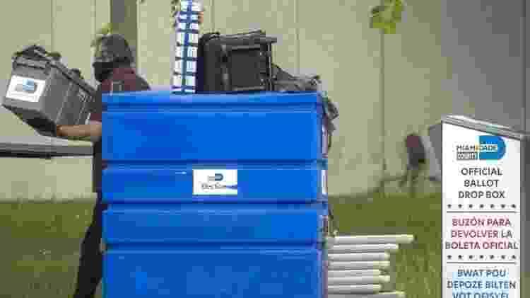 Americanos podem ter de esperar mais de um mês para saber resultado das eleições - EPA - EPA