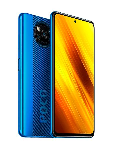 Poco X3 NFC, novo celular da Xiaomi no Brasil - Divulgação