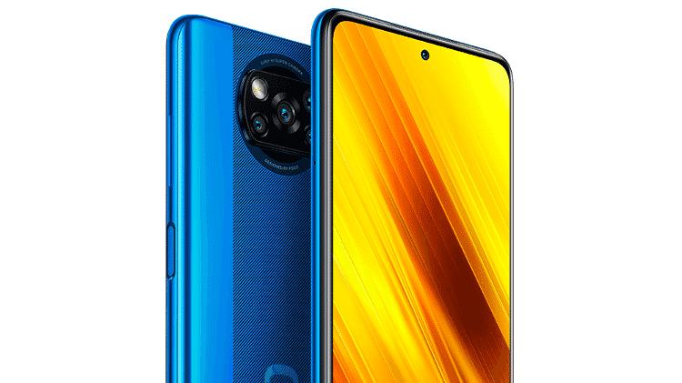 Poco X3 NFC, novo celular da Xiaomi no Brasil - Divulgação - Divulgação
