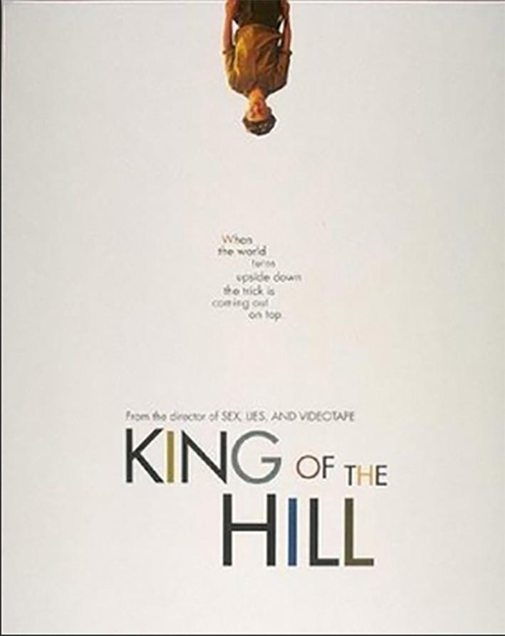 Dirigido por Steven Sodesbourgh, ''O Inventor de Ilusões'' (King of the Hill, 1993)