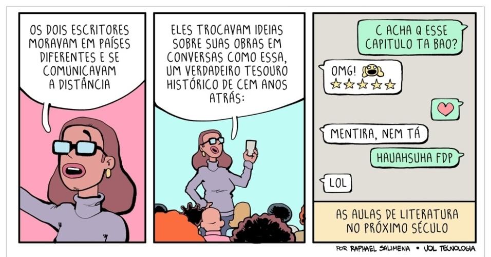 """8.abr.2016 - """"Cartas históricas"""""""