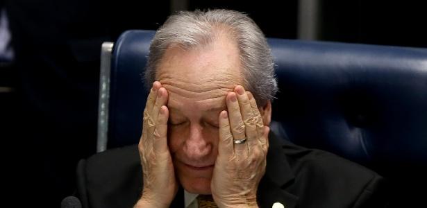 Presidente do STF (Supremo Tribunal Federal), Ricardo Lewandowski comanda o julgamento do impeachment