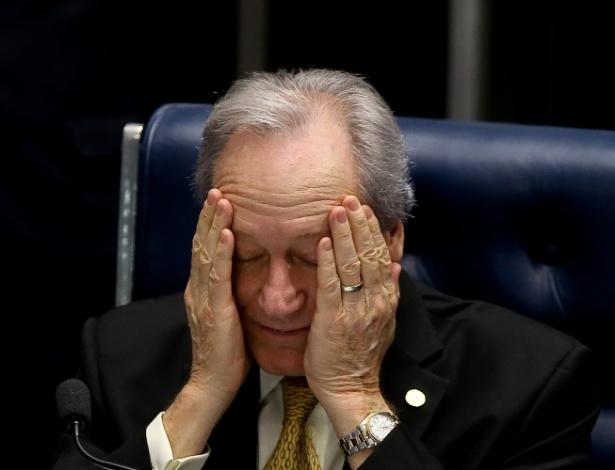 Presidente do STF (Supremo Tribunal Federal), Ricardo Lewandowski comanda o julgamento do processo de impeachment