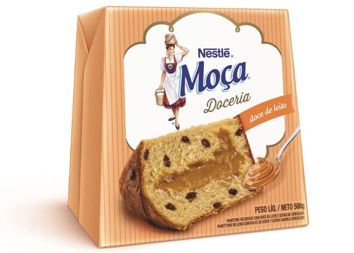 Panetone Nestlé 500g doce de leite R$ 23,99