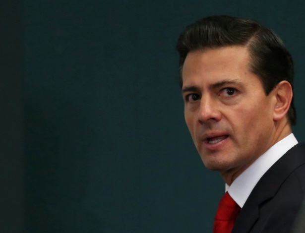 O presidente do México, Enrique Peña Nieto
