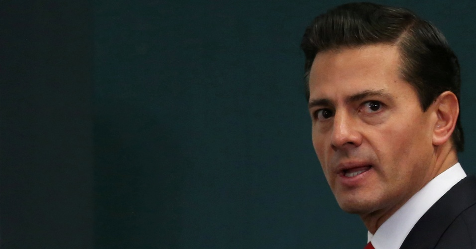 24.jan.2017 - Presidente do México, Enrique Peña Nieto