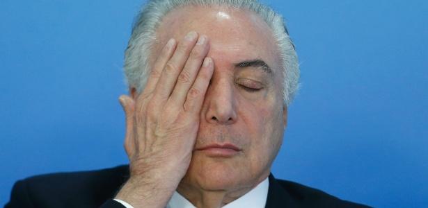 O presidente Michel Temer foi denunciado por corrupção pelo Ministério Público