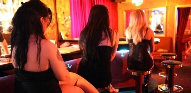 Prostitutas em um bordel em Colônia