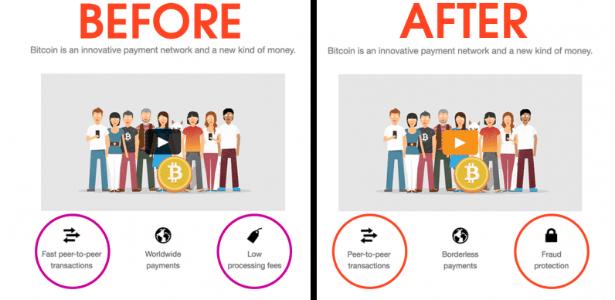 Bitcoin.org muda detalhes de suas transações