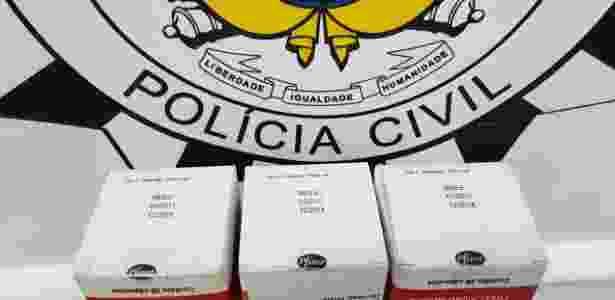 Medicamento falso - Divulgação/Polícia Civil - Divulgação/Polícia Civil