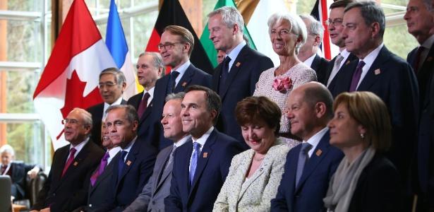 Ministros do G7 ameaçam EUA com guerra comercial após tarifas