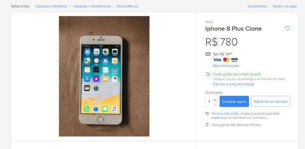 Como identificar iPhone pirata 01 - Reprodução - Reprodução
