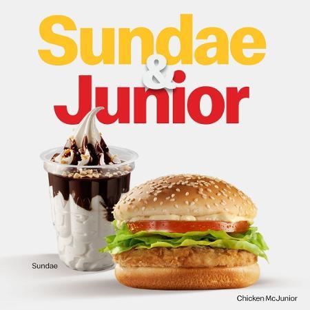 """""""Sundae & Junior"""", a dupla do Mc - Divulgação"""