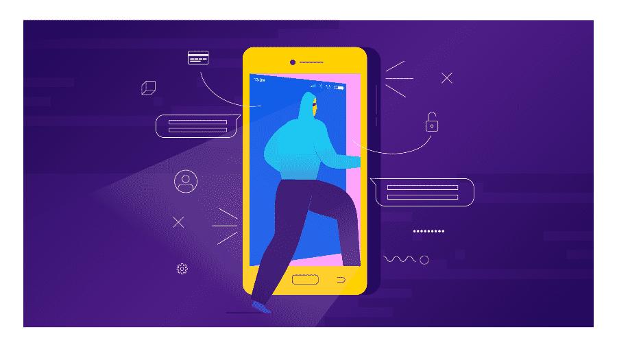 Falha deve ser corrigida em atualização, mas celulares ficarão vulneráveis por um tempo - Estúdio Rebimboca/UOL