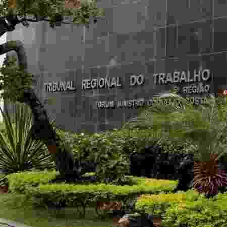 11.set.2019 - TRT-5 (Tribunal Regional do Trabalho da 5ª Região) foi alvo de ação da PF - Divulgação