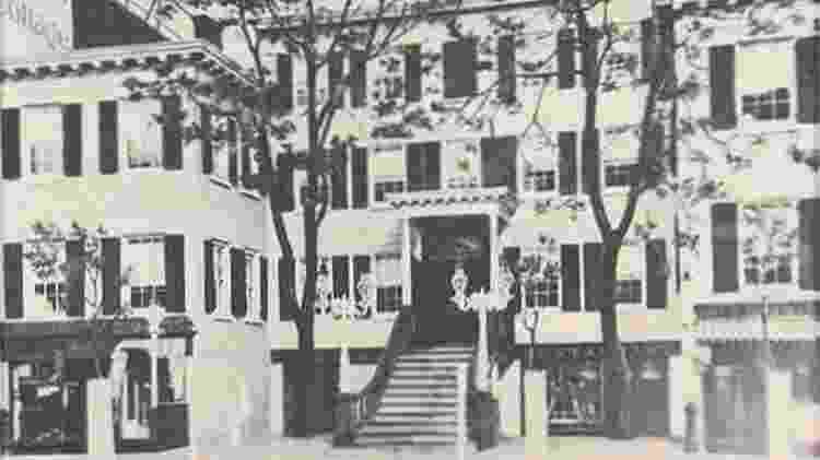 Clube dos Treze começou com reuniões nesta casa em Manhattan - Reprodução - Reprodução
