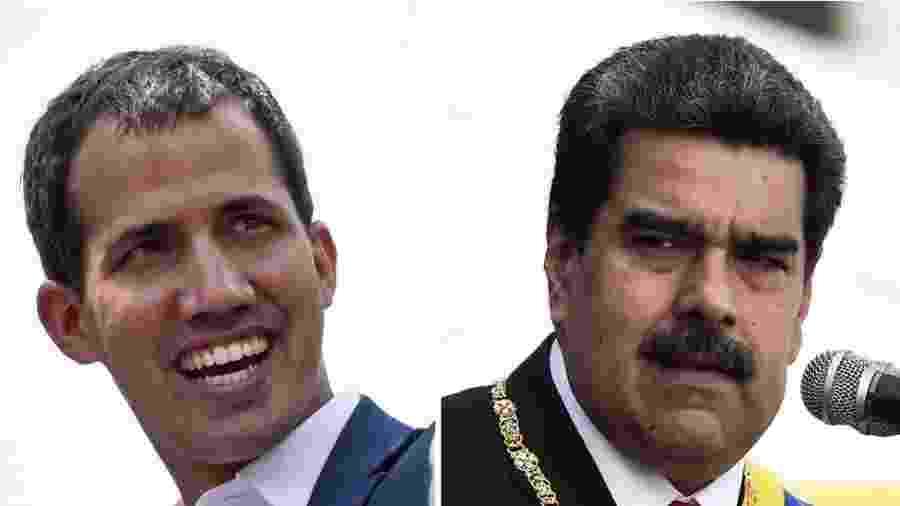 Aliados de Guaidó e de Maduro estão envolvidos no escândalo. - Getty Images